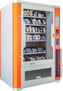 Výdajný automat na náradie a ochranné pomôcky s možnosťou spatného odberu materiálu VENDITECH