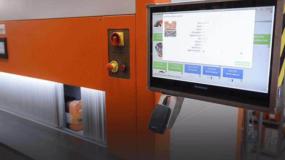 Venditech - Inteligentné skladovanie a logistika - Technia Nové Zámky
