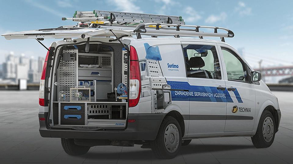 Sortimo - Zariadenie úžitkových vozidiel - Technia Nové Zámky